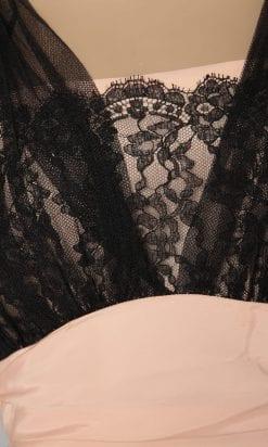 n1177_robe_longue_ball_tulle_noire_fond_rose_dentelle_noire_1950_pic001