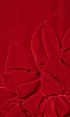n6044_robe_velours_rouge_1960_jacques_heim_applications_feuilles_taille_36_pic001