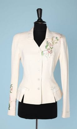n5027_veste_soie_brode_cuir_blanc_christian_dior_boutique_taille36_pic007
