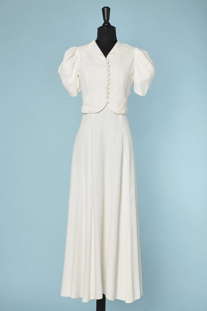 Largo Vestido 1930 Sarah Rayón Chez Bolero Y TFl3cuK1J