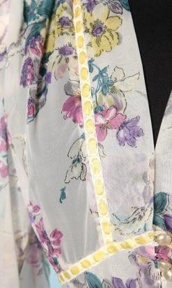 n6289_deshabille_1950_voile_nylon_imprimee_fleurs_taille_40_42_pic001