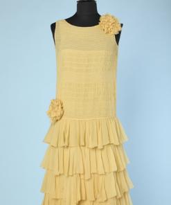 450fbb17da4b2b Vêtements vintage, matière Mousseline - Chez Sarah