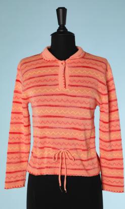 nA4088-Pull-1950-en-laine-corail-zigzag-rose-et-jaune-ajouré-rouge-t38-40-001.png