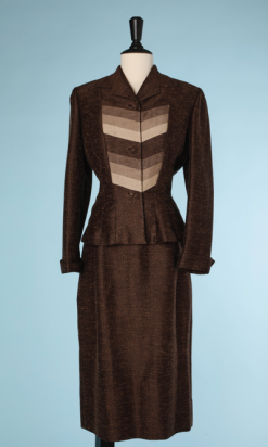 nA4097-tailleur-1940-en-laine-et-soie-Veste-tricolore-marron-lilli-ann-t38-001.png