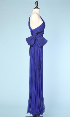 na3105_robe_longue_vintage_bicolore_noire_bleu_electrique_corseterie_t_34_001.png