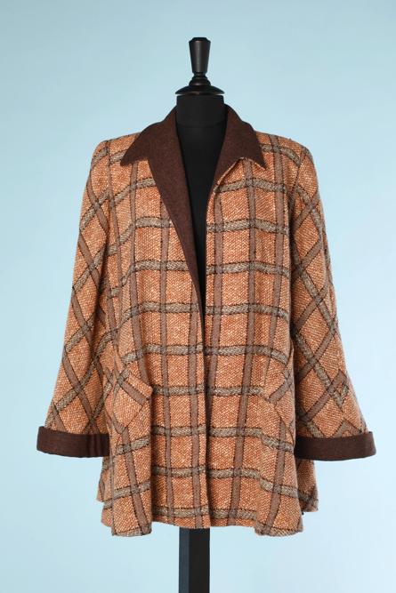 na4515-Veste-1940-en-lainage-tissé-écru-marron-brique-à-grands-carreaux-t40-01.png