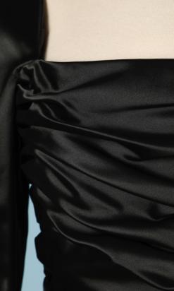 nA4664-robe-vintage-en-satin-de-soie-noir-et-rose-Dior-t36-01