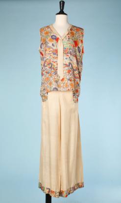 nA4871-Pyjama-1920-en-soie-ivoir-iprimé-motifs-asiatiques-multicolore-t48-50-01