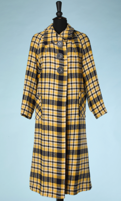 nA4921-Manteau-1930-40-en-lainage-à-carreaux-jaune-et-marine-Morley-t40-01