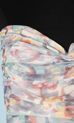 nA6136-Robe-longue-en-mousseline-imprimé-pastel-Chanel-sans-étiquette-t34-01