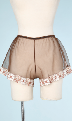 na6514-Shorty-en-nylon-marron-et-dentelle-blanche-et-marron-t-36-01