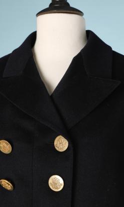 na6520-Livrée-en-drap-de-laine-noir-XIX-boutons-en-métal-doré-01