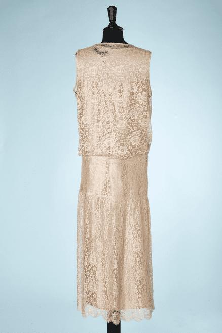 na6782-Robe-et-Veste-1920-en-dentelle-beige-fleur-fleur-ceinture-t44-01