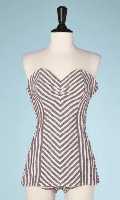 na7397-Maillot-de-bain-1950-en-coton-blanc-rayures-grises-T36-01